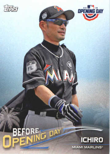 Photo of 2018 Topps Opening Day Before Opening Day #BODI Ichiro