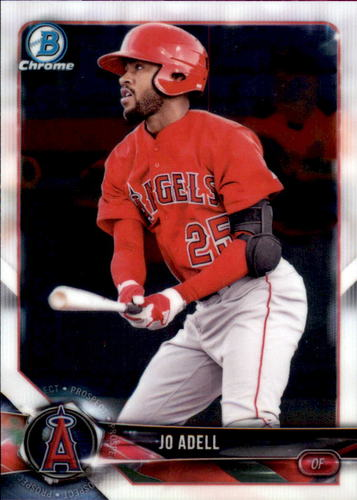 Photo of 2018 Bowman Chrome Prospects #BCP136 Jo Adell