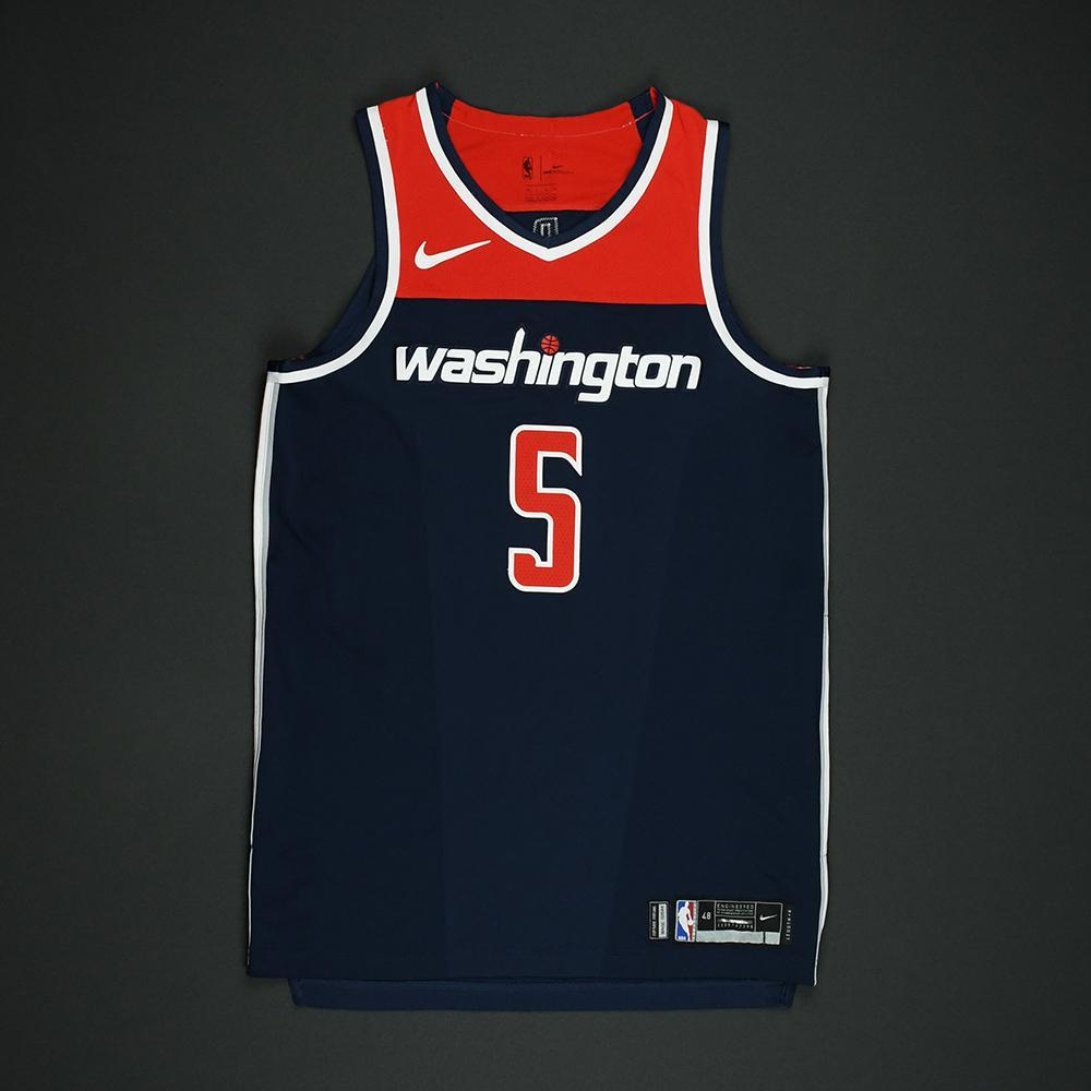 Markieff Morris - Washington Wizards - 2018 NBA Playoffs Game-Worn 'Statement' Jersey