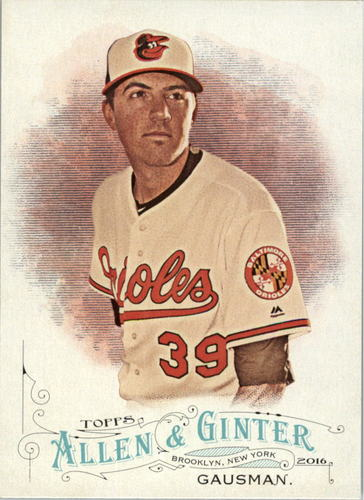Photo of 2016 Topps Allen and Ginter #13 Kevin Gausman