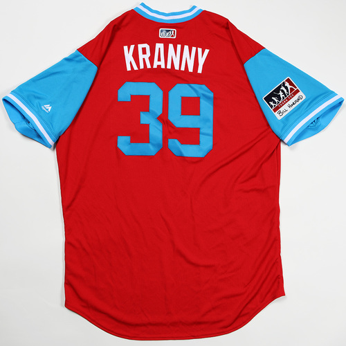 "Photo of Rick ""Kranny"" Kranitz Philadelphia Phillies Team Issued Jersey 2018 Players' Weekend Jersey"