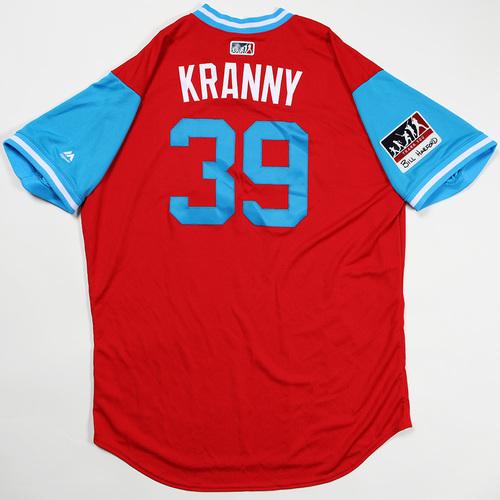 "Photo of Rick ""Kranny"" Kranitz Philadelphia Phillies Team Issued Jersey 2018 Players' Weekend Jersey"