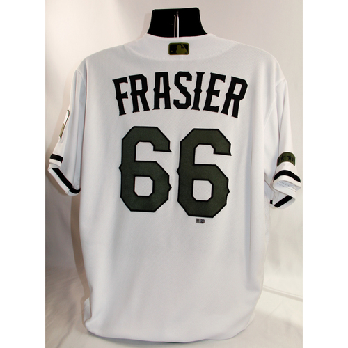 Photo of Team-Issued Home Memorial Day Jersey - Josh Frasier - 5/27/18