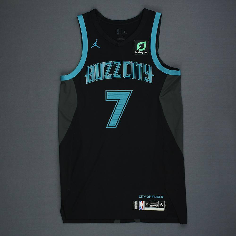 0a72a182807 Dwayne Bacon - Charlotte Hornets - Game-Worn City Edition Jersey - 2018-19