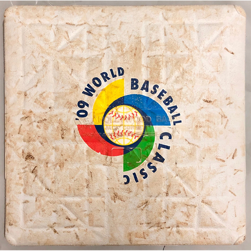 Photo of 2009 World Baseball Classic Game Used Base- 3rd Base (Australia vs. Mexico)