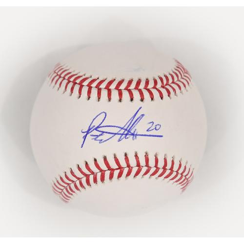 Photo of Amazin' Auction: Pete Alonso signed baseball