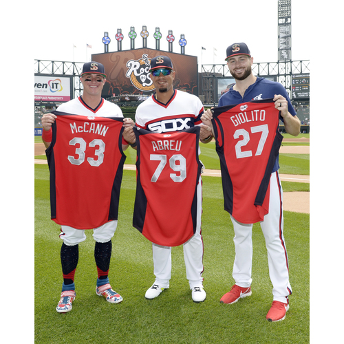 Photo of Meet the All-Stars: Meet and Greet with 2019 White Sox All-Stars Jose Abreu, Lucas Giolito, and James McCann