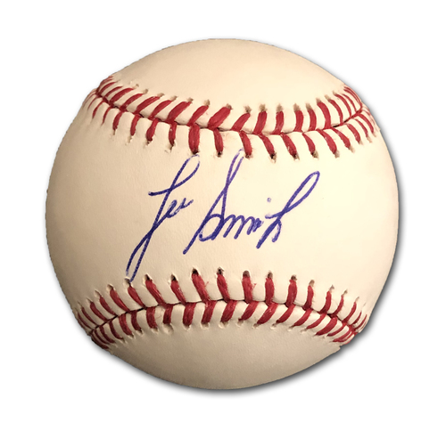 Photo of Lee Smith Autographed Baseball
