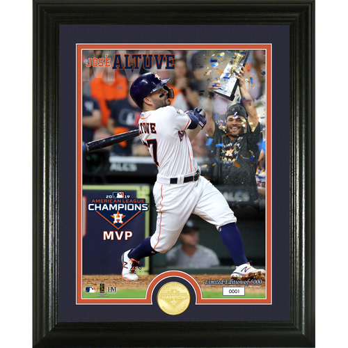 Photo of 2019 Houston Astros AL Champions MVP Bronze Coin Photo Mint