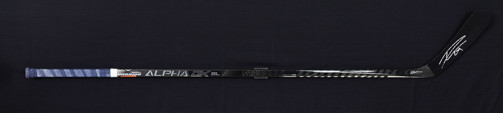 Leon Draisaitl #29 - Autographed 2019-20 Edmonton Oilers Used Warrior Alpha DX SL Stick
