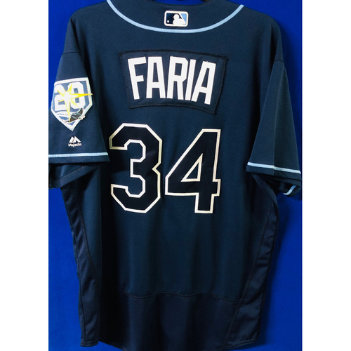 Photo of Game-Used Jersey: Jake Faria (size 46) - September 29, 2018 v TOR