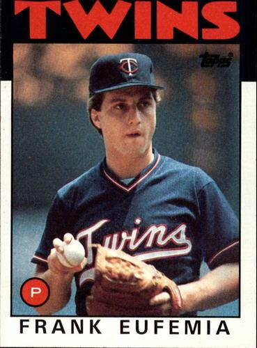 Photo of 1986 Topps #236 Frank Eufemia