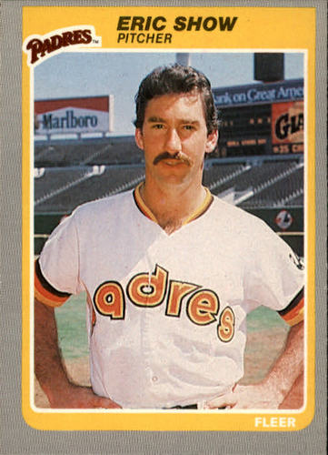 Photo of 1985 Fleer #44 Eric Show