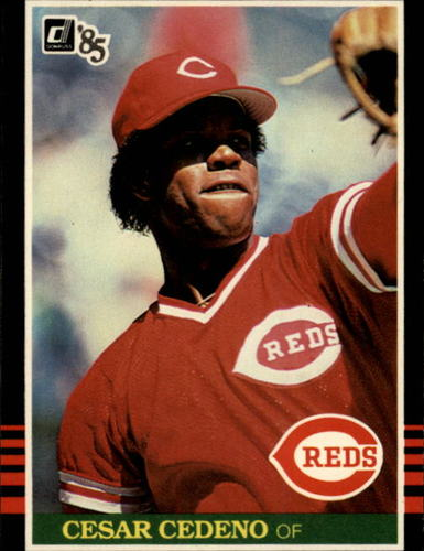 Photo of 1985 Donruss #447 Cesar Cedeno