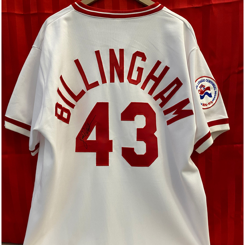 Photo of Jack Billingham Signed Jersey