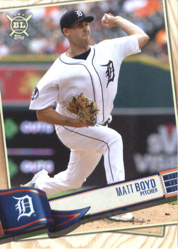 Photo of 2019 Topps Big League #205 Matt Boyd
