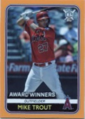 Photo of 2020 Topps Big League Orange #285 Mike Trout AW