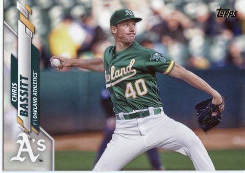Photo of 2020 Topps #578 Chris Bassitt