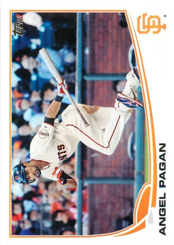 Photo of 2013 Topps #284 Angel Pagan