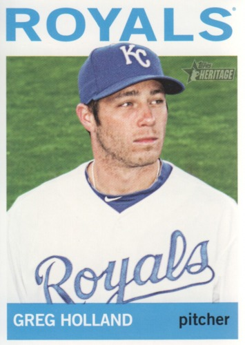 Photo of 2013 Topps Heritage #369 Greg Holland