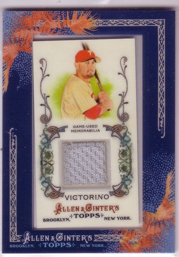 Photo of 2011 Topps Allen and Ginter Relics #SV2 Shane Victorino Jsy