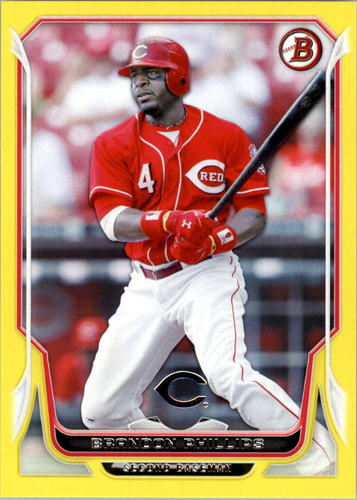 Photo of 2014 Bowman Yellow #203 Brandon Phillips