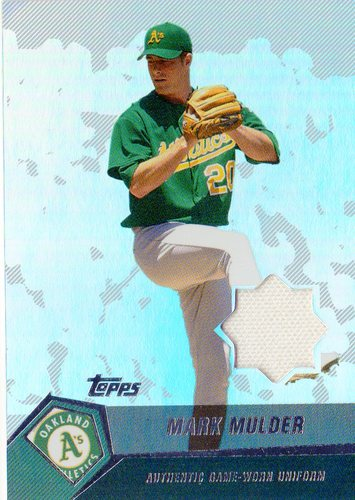 Photo of 2004 Topps Clubhouse Relics #MM Mark Mulder Uni E