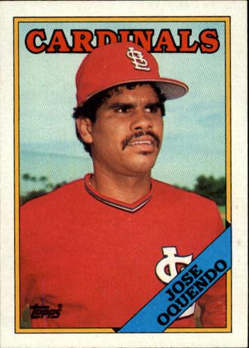 Photo of 1988 Topps #83 Jose Oquendo