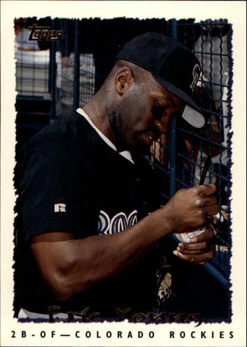 Photo of 1995 Topps #517 Eric Young
