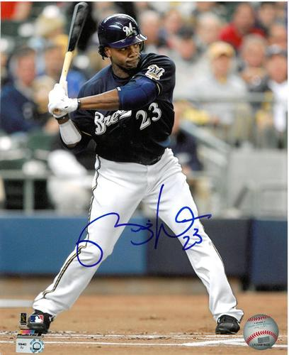 Photo of Rickie Weeks Autographed 8x10