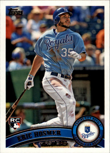 Photo of 2011 Topps Update #US155 Eric Hosmer  Rookie Card