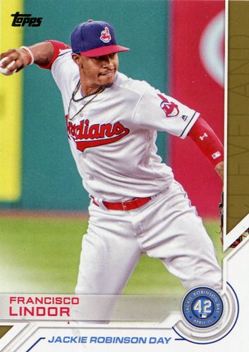 Photo of 2017 Topps Jackie Robinson Day #JRD6 Francisco Lindor