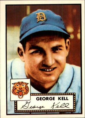Photo of 1983 Topps 1952 Reprint #246 George Kell
