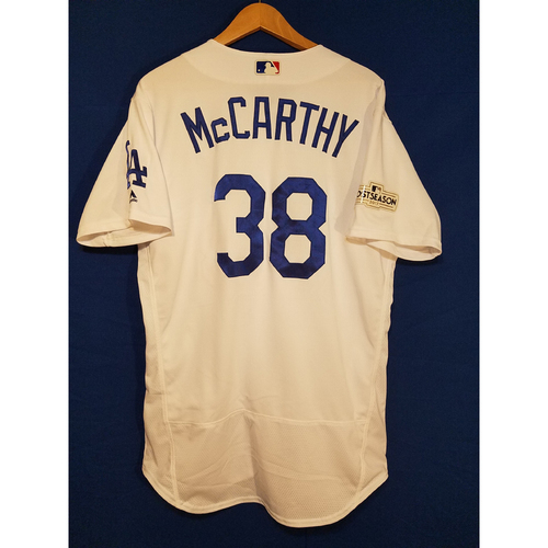 Brandon McCarthy Home 2017 Team-Issued Post Season Jersey
