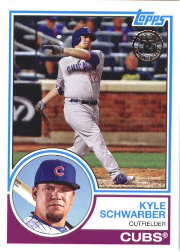 Photo of 2018 Topps '83 Topps #8381 Kyle Schwarber
