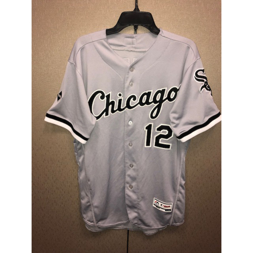 Photo of Position Players: Tim Anderson 2016 Game-Used Grey Road Jersey