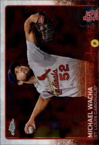 Photo of 2015 Topps Chrome #85 Michael Wacha