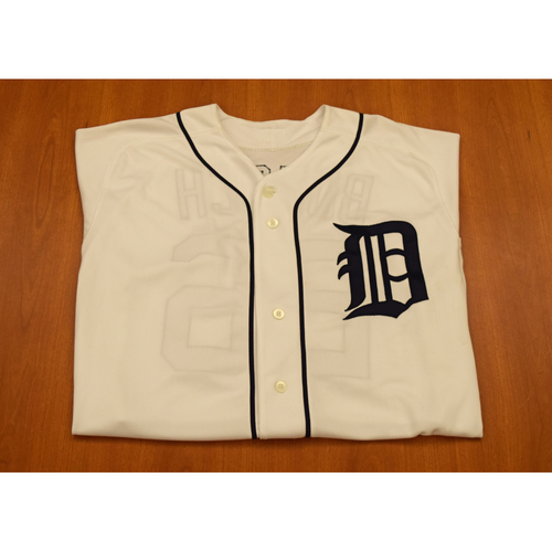 Photo of Brennan Boesch Autographed Detroit Tigers #26 Home Jersey