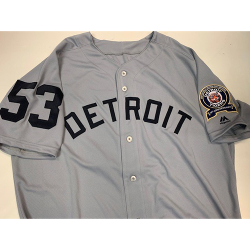 Photo of Team-Issued 1968 World Series Anniversary Jersey: #53