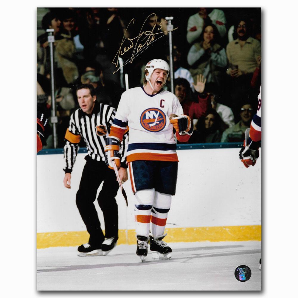 Denis Potvin Autographed New York Islanders 8X10 Photo