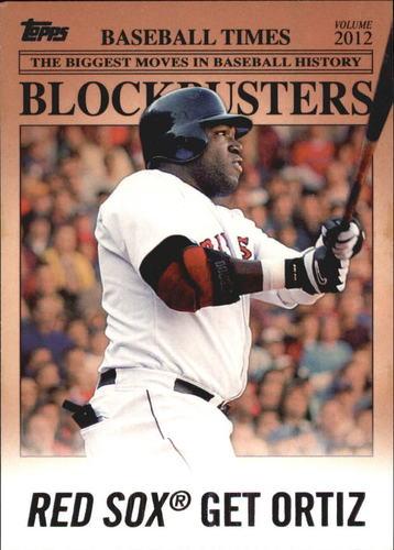 Photo of 2012 Topps Update Blockbusters #BB20 David Ortiz
