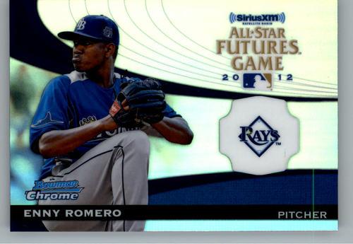 Photo of 2012 Bowman Chrome Futures Game #ER Enny Romero
