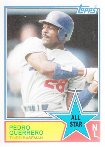 Photo of 2013 Topps Archives 1983 All-Stars #PG Pedro Guerrero