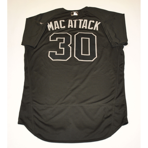 "Photo of T.J. ""MAC ATTACK"" McFarland Arizona Diamondbacks 2019 Game-Used Players' Weekend Jersey"