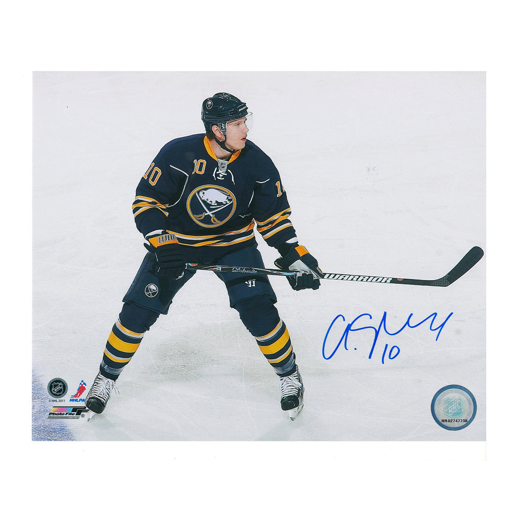 CHRISTIAN EHRHOFF Signed Buffalo Sabres 8 X 10 Photo - 70455