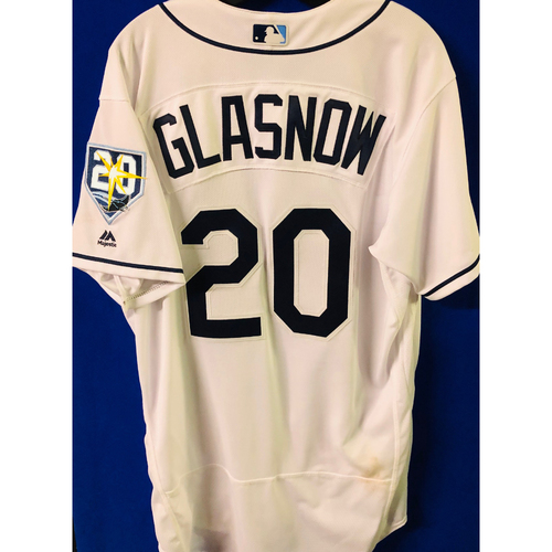 Photo of Game-Used Jersey: Tyler Glasnow (size 48) - September 28, 2019 v TOR