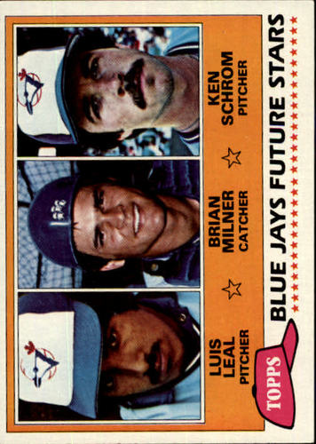 Photo of 1981 Topps #577 Luis Leal RC/Brian Milner RC/Ken Schrom RC