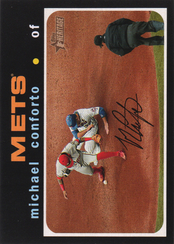 Photo of 2020 Topps Heritage #310 Michael Conforto