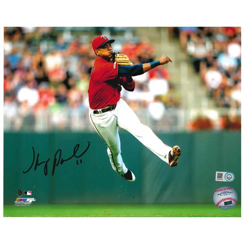 Photo of Minnesota Twins Autographed 8x10 Photo - Jorge Polanco