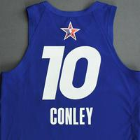 Mike Conley - Game-Worn 2021 NBA All-Star Jersey - 1st Half - All-Star Game Debut - Also Worn In MTN DEW 3-Point Contest